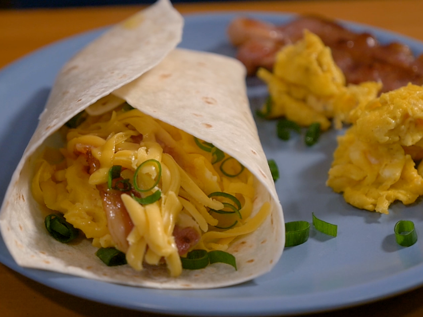 Toplay Breakfast Burrito