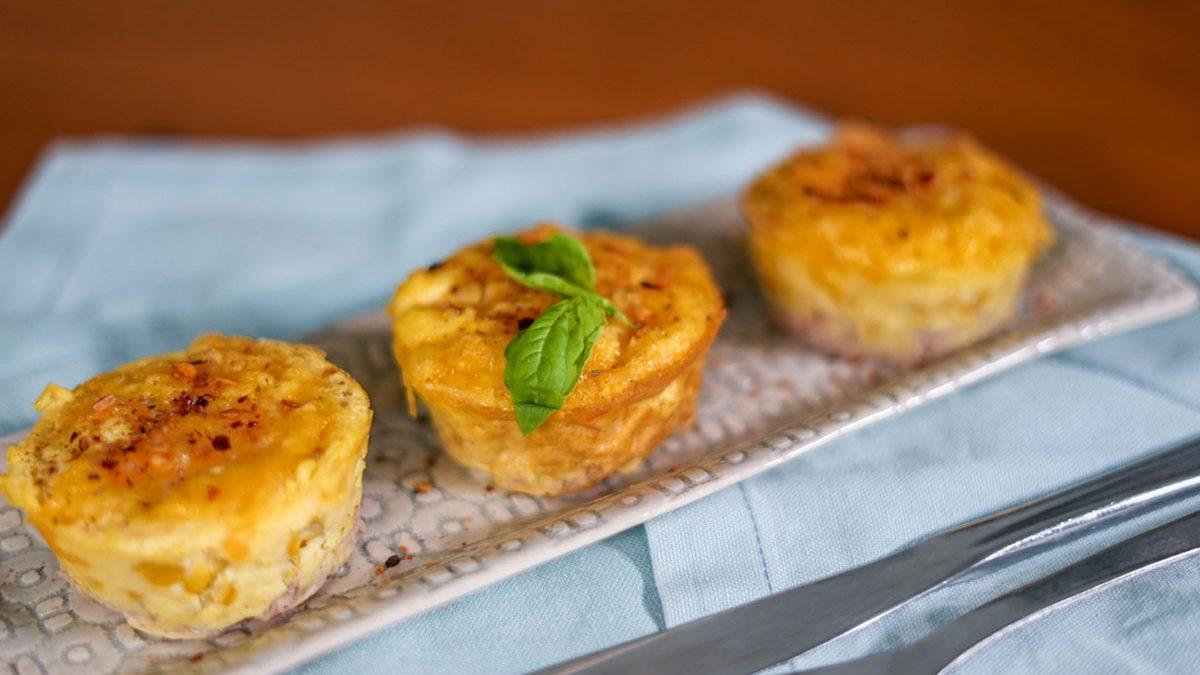 TopLay - Tuna corn tarts